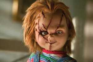 Chucky está matando de contentamento!