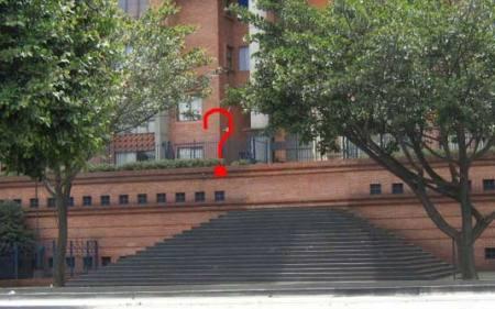 Essa escada leva aonde mesmo?!